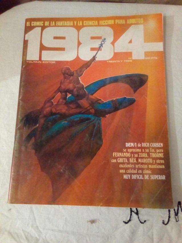 cómic 1984 número 33