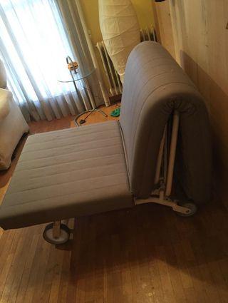 Sofá cama individual (sillón) ikea ps Lovas