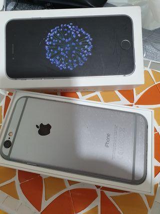 Iphone 6 auténtico color negro