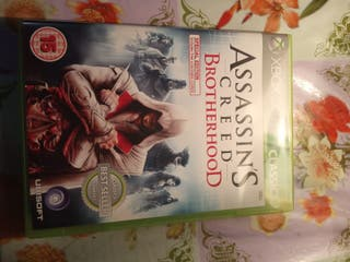 juego de Xbox 360 Assassins Creed Brotherhood