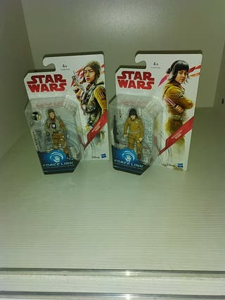 Pack figuras Star wars Paige y Rose