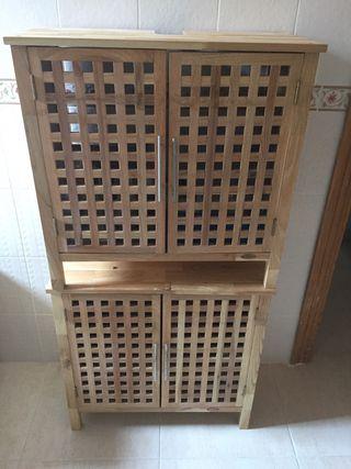 Mueble de almacenaje de lavabo
