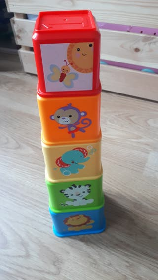 cubos apilables Fisher Price