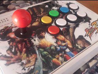 Arcade Stick Madcatz PS3/PC/Rasp full Seimitsu