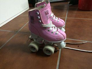 Patines patinaje artístico niña paralelo