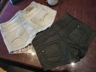shorts. los 2 x 5 euros.