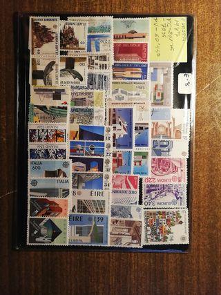 sellos de europa 1987