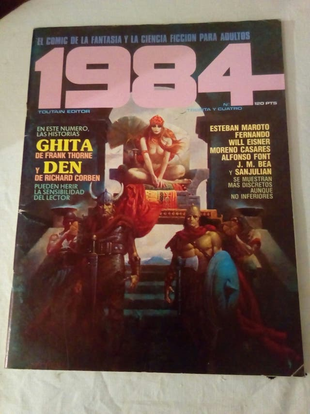 comic 1984 número 34