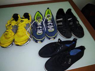 zapatos 5€ cada una