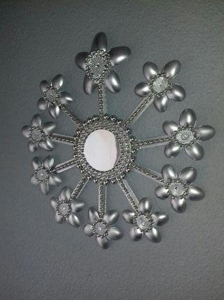 espejo de florecitas