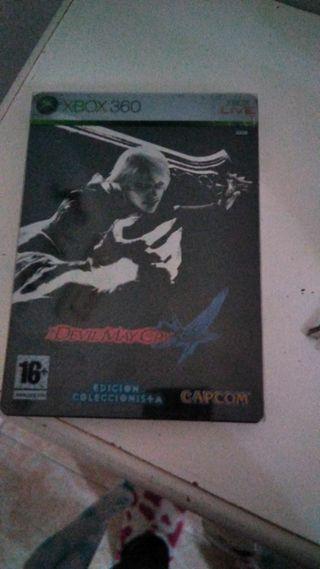 Devil May Cry 4 Edición Coleccionista Xbox 360