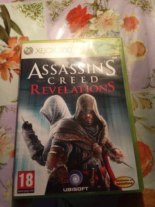juego de Xbox 360 Assassins creed Revelations