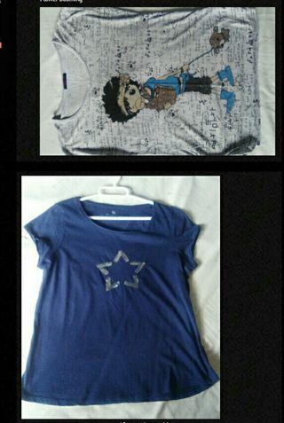 Camisetas mujer.