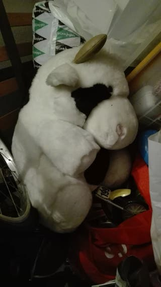 peluche gigante de vaca