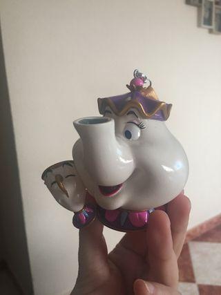 Ornamento Señora Potts y Chip