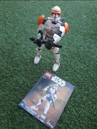 Figura Lego Star wars Clone Commander Cody 75108