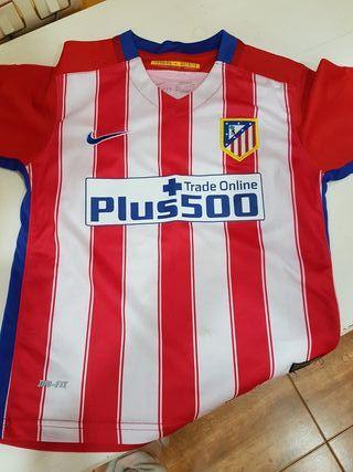 camiseta atletico de Madrid niño