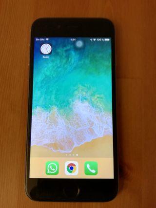 iPhone 6S 64Gb Negro - Gris Espacial