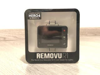 Visor Removu R1 para GoPro Hero 3, 3+ o 4