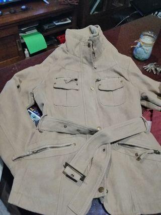 chaqueta antelina