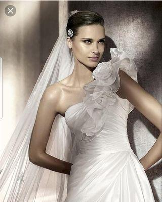 165b30140 Vestido de novia Pronovias de segunda mano en Murcia en WALLAPOP