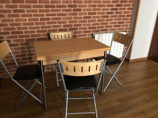 Mesa de cocina + 4sillas