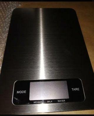 Balanza báscula Nueva cocina acero 5 kg digital. N