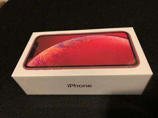 iPhone xr 256Gb nuevo estrenar rojo libre