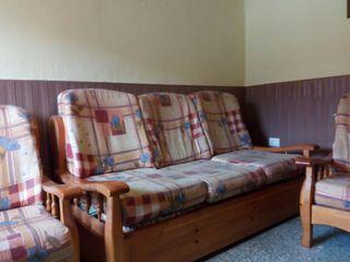 sofa cama +2 butacas