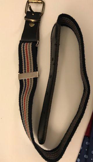 Cinturón niño elástico c/ piel