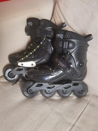 patinas / roller skates sz 38 / safety equipment