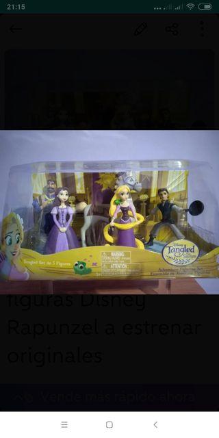 figuras Disney Rapunzel a estrenar originales
