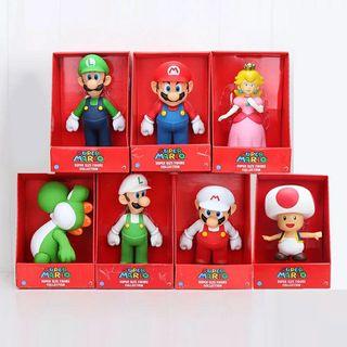 figuras Mario, 22 cm