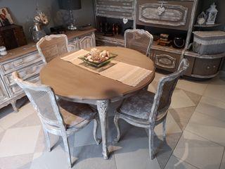 conjunto mesa +4 sillas
