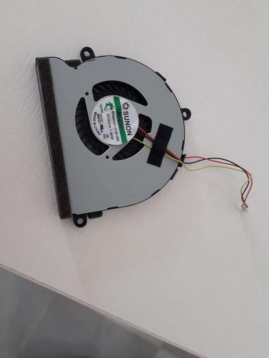 Diversos componentes de un ordenador