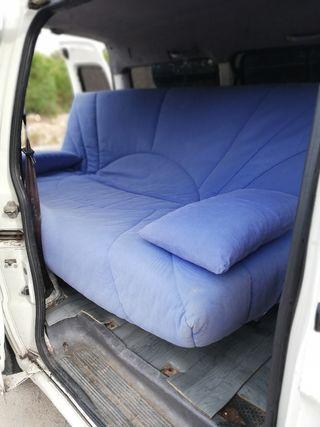 sofá cama con transporte incluido