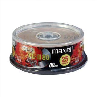 AP5QG | Cd-r audio maxell music xl-ii 80 tarrina 2