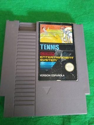 Juego tennis Nintendo nes