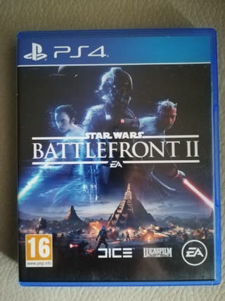 Star Wars Battlefront II impecable PS4
