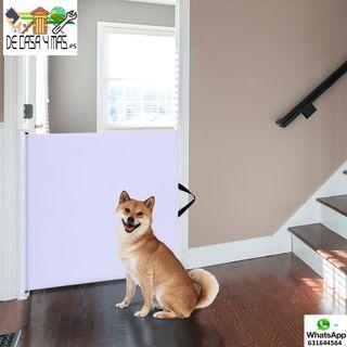 Barrera Separadora de Mascotas 115x8 Ajustable