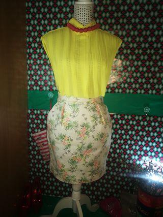 Minifalda Zara, talla M