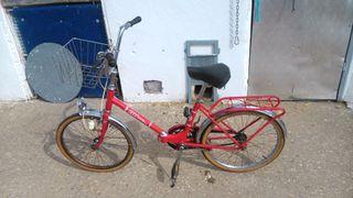 Bicicleta de mujer clasica