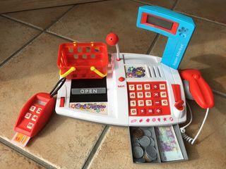 Caja registradora niños con sonidos