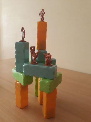 Juego de equilibrio Monkey blocks