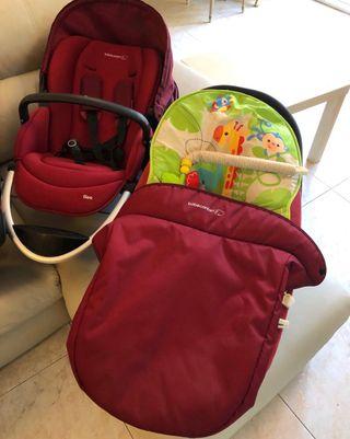 Carrito y capazo bebé confort +cuna sin uso