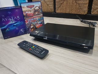Reproductor Bluray Philips + 2 Peliculas
