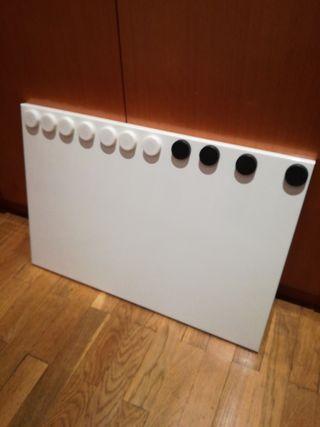 Pizarra magnética de IKEA