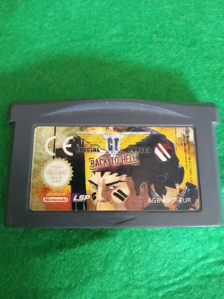 Juego special force back to hell game boy advance