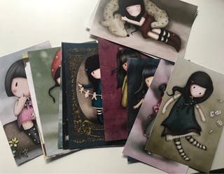 Cromos/tarjetas de la colección 1y 2 de Gorjuss
