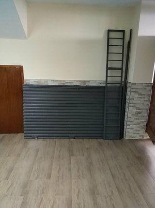puerta de hierro para cochera